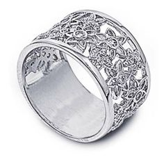 Rhodium Plated Sterling Silver Wedding & Engagement Ring Clear CZ Flower Filigree Band 7MM ( Size 6 to 10) Double Accent, http://www.amazon.com/dp/B007Q219KA/ref=cm_sw_r_pi_dp_aNiPqb0XDA9QA