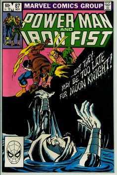 Power Man and Iron Fist 87 (VF- 7.5)