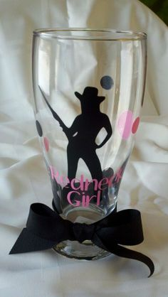 Personalized Redneck Girl Pilsner Glass by Just4ubyKim on Etsy, $12.00