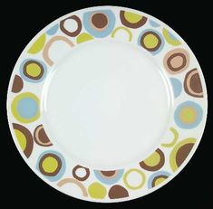 Pattern Code, Solid Background, Circle Pattern, Cereal Bowls, China Dinnerware, How To Take Photos, Correlle Dishes, Dinner Plates, Stoneware