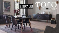 "Cu ajutorul mobilierului #TORO Luxury ajutam orice locuinta sa devina ""acasa""! Rezervari si comenzi: 0746 661 384   Prețuri Amazon dining: - 1 masa + 6 scaune la pretul de 9897 RON (tva inclus)  - 1 masa + 6 scaune + 1 bufet + 1 oglinda - 13.806 RON (tva inclus) pret promotional de stoc. Orice, Dining Bench, Luxury, Furniture, Home Decor, Homemade Home Decor, Table Bench, Home Furnishings, Interior Design"