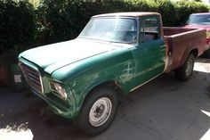 Second Take But Different: 1963 Studebaker Champ Pickup - http://barnfinds.com/77975-2/