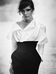 Victoria Beckham by Boo George for Vogue Germany, November 2015