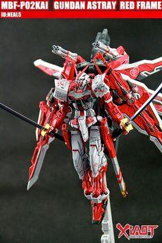 MG 1/100 Gundam Astray Red Frame Kai - Custom Build - Gundam Kits Collection News and Reviews