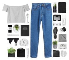 """""""make me gasp for air"""" by moonlightxbby ❤ liked on Polyvore featuring Monki, Topshop, Smashbox, Lux-Art Silks, Brinkhaus, Black+Blum, Rodin Olio Lusso, Alicia Adams, Korres and NARS Cosmetics"""