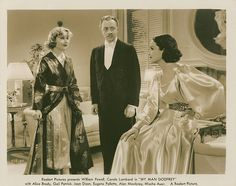 Carole Lombard, William Powell and Gail Patrick