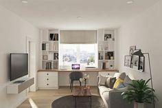 Московская квартира 53 м² для активной девушки – Красивые квартиры