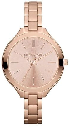 Rose Gold Stainless Steel Ladies Watch - Lyst