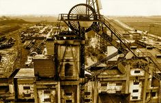 Photo 01 (of - Winder at Sutton Manor Colliery - St Helens Town, Work Opportunities, Coal Mining, Present Day, Heritage Site, Over The Years, Fair Grounds, Industrial, Landscape