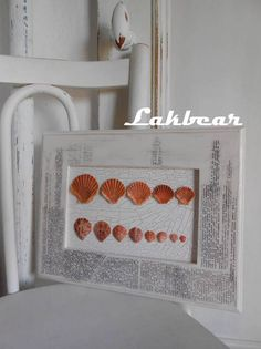 Lakbear has shared 1 photo with you! Displaying Collections, Sea Shells, Frame, Creative, Diy, Check, Photos, Home Decor, Picture Frame