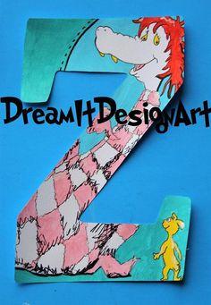 Seussical Alphabet Letter Z Art Classroom, Kids Rooms, Bart Simpson, Alphabet, Teacher, Crafty, Lettering, Reading, School