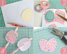 DIY Osterei-Washi-Tape-Röhrli-Deko vom Omiyage Blog