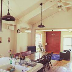 yochiさんの、カフェ風,ナチュラル,アンティーク,レトロ,部屋全体,のお部屋写真