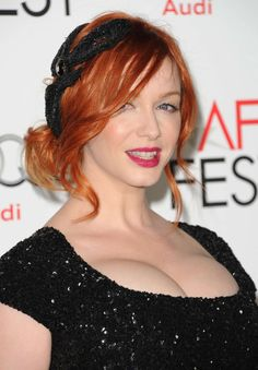 Elegantly ineffable excellence of Christina Hendricks ...  Dapper ideal Lady...   She has also had recurring roles in ER and Firefly and guest-starred in episodes of Angel, Miss Match, Tru Calling, Presidio Med, Without a Trace, and Las Vegas.