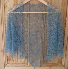 Eva's Shawl Free Crochet Lace Pattern