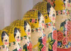 As típicas bonequinhas russas e japonesas conferem feminilidade aos ambientes e se destacam quando há mix de objetos