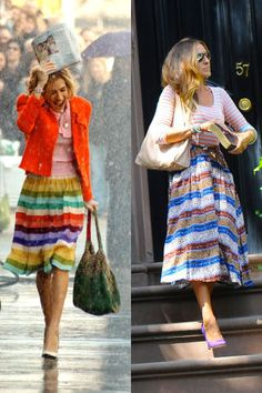 50 times that Sarah Jessica Parker dressed like Carrie Bradshaw in real life: