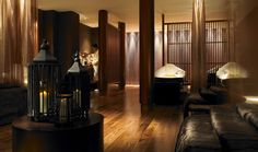 Gleneagles Hotel & Spa - Scotland / Amanda Rosa Interiors #lighting