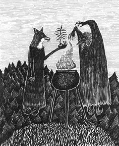 Bill Crisafi: Artist, Dreamer, Feral Mystic - Dirge Magazine
