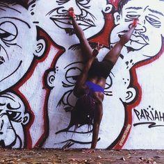 Black yoga, yoga inspiration, nike women, hand stand, yoga ideas, yoga, black girl magic, black girl yoga, melanin, black models, black fitness, nike, just do it, ebony fitness, nike yoga, black girls rock, black yogis,  Today I Get Stronger, nike training, yoga photography, yoga for athletes