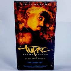 New Tupac Resurrection 2Pac VHS Movie Makaveli Shakur Hip Hop Rap Music Artist   eBay