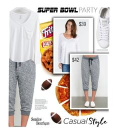 """Super Bowl Sunday"" by seaside-boutique ❤ liked on Polyvore featuring adidas, Tiffany & Co., women's clothing, women, female, woman, misses and juniors"