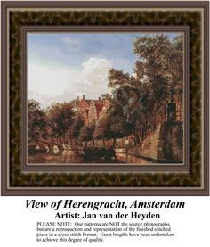 Sunrays Creations - View of Herengracht, Amsterdam, RE-500, $39.00 (http://stores.sunrayscreations.com/view-of-herengracht-amsterdam-re-500/)