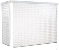 ECO-DuR  4024879002527 Kassetten ECK Duschrollo 137 x 62 cm weiß - Kreisel - 1