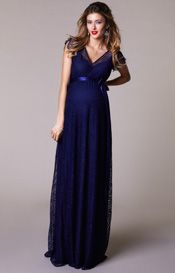 d4eed37f33f29 Kristin Gown. Blue Maternity DressMaternity GownsMaternity FashionMaternity  WeddingMaternity StylePregnant Party DressBleu IndigoTiffany RoseNavy ...