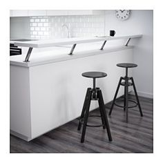 IKEA - DALFRED, Bar stool, You can adjust the height as you like.