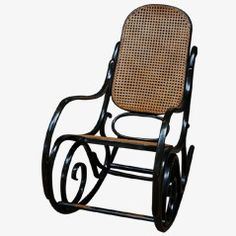 No. 10 Rocking Chair from Thonet, 1880s 2