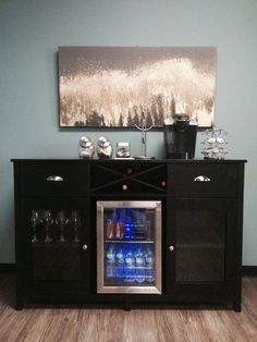 Where Can I Find A Sideboard With Mini Fridge And Wine