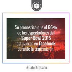 Los usuarios del #SuperBowl son multiplataforma. #MarketingDeportivo #Marketing #Facebook #DatoDifraxion