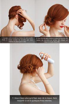 coiffure cheveux mi long - Recherche Google