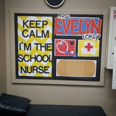 School Nurse bulletin board