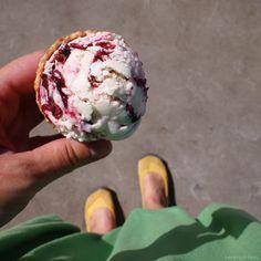 Třešňová zmrzlina z mascarpone