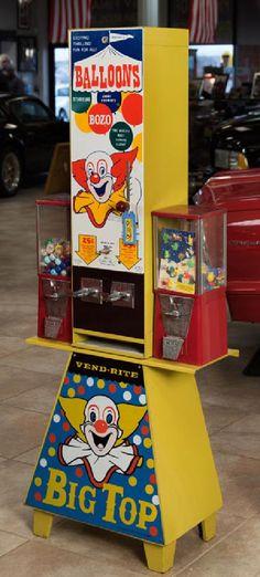 """Vend-Rite """"Big Top"""" Toy Machine"""