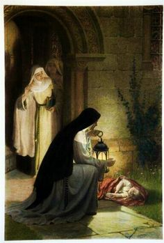 Edmund Blair Leighton, A Foundling.