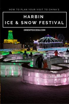 Planning on visiting the Harbin Ice and Snow Festival this winter? We've got you covered! We'll help you plan your visit with a few must do and the few things you might want to avoid.