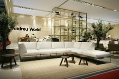 isaloni milano 2012 andreu world by Mueble de España / Furniture from Spain