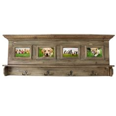 Shop for Antiqued Handcrafted Weathered Wooden Family Album Picture Frame Coat Rack. Get free shipping at Overstock.com - Your Online Home Decor Outlet Store! Get 5% in rewards with Club O!
