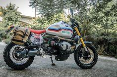 """BMW R nineT Scrambler """"Raid"""" by XTR Pepo. Desierto, montaña y hasta incluso el Paris-Dakar. Con esta moto disfrutarás de lo más extremo. Descúbrela"""