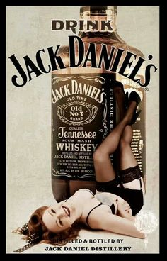 Who likes some Jack Daniels on a Sunday evening? Whiskey Girl, Bourbon Whiskey, Whisky Jack, Bourbon Drinks, Scotch Whiskey, Irish Whiskey, Jack Daniels Cocktails, Pinup, Jack Daniels Distillery