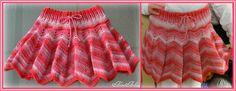 חצאית גלים מתנפנפת - מתאימה לגיל 4