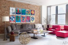 Will Ferrell's Laid-Back New York Loft