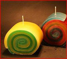 Candle rolls http://images02.olx.es/ui/7/53/22/1286280035_126335122_1-Fotos-de--TALLER-DE-VELAS-ARTESANALES-1286280035.jpg