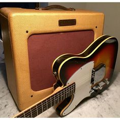 Some people spend hours and hours looking for the next great pedal, the newest compressor, the best pickup etc. Truth is, less is more. When it comes to finding the Fender tone we all love, all you need is a Fender Esquire and a Fender Tweed Deluxe. Plug, play, enjoy. You can make your life complicated or simple. Want to make it simple? Head to @therealdealguitarshop on @reverb tomorrow and buy yourself this sweet 100% original 1950 Fender Deluxe we just listed. You won't regret it…