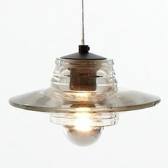 Replica Tom Dixon Pressed Glass Pendant - 230 from Oz Lighting $89.10