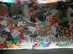 "Collage detail ""Create...a new chapter"""