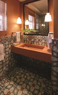 Tropical Splash Tropical Bathroom Other Metro By Avente Tile